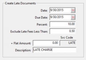 late charges screenshot